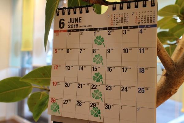 昭和くらし不動産6月営業カレンダー